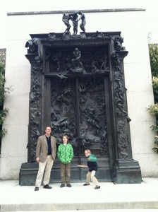 Just chillin' at the Gates of Hell.